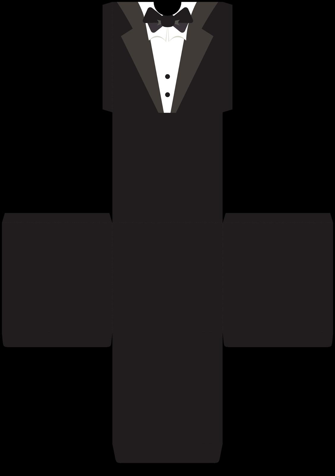 Onesie clipart tuxedo. Cajas abiertas para bodas