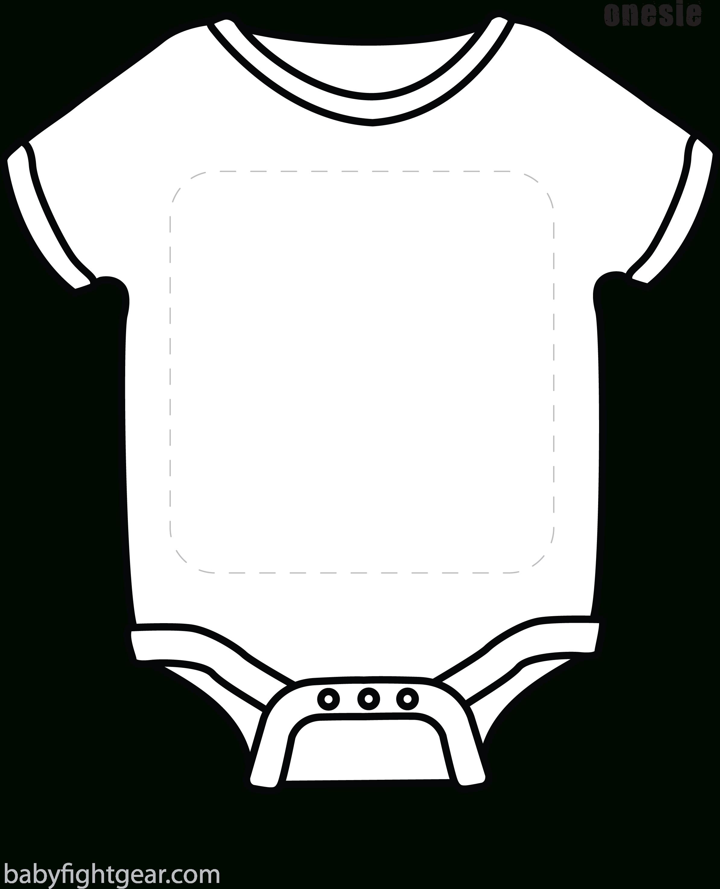 Baby template sadamatsu hp. White clipart onesie
