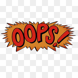 Png images vectors and. Oops clipart