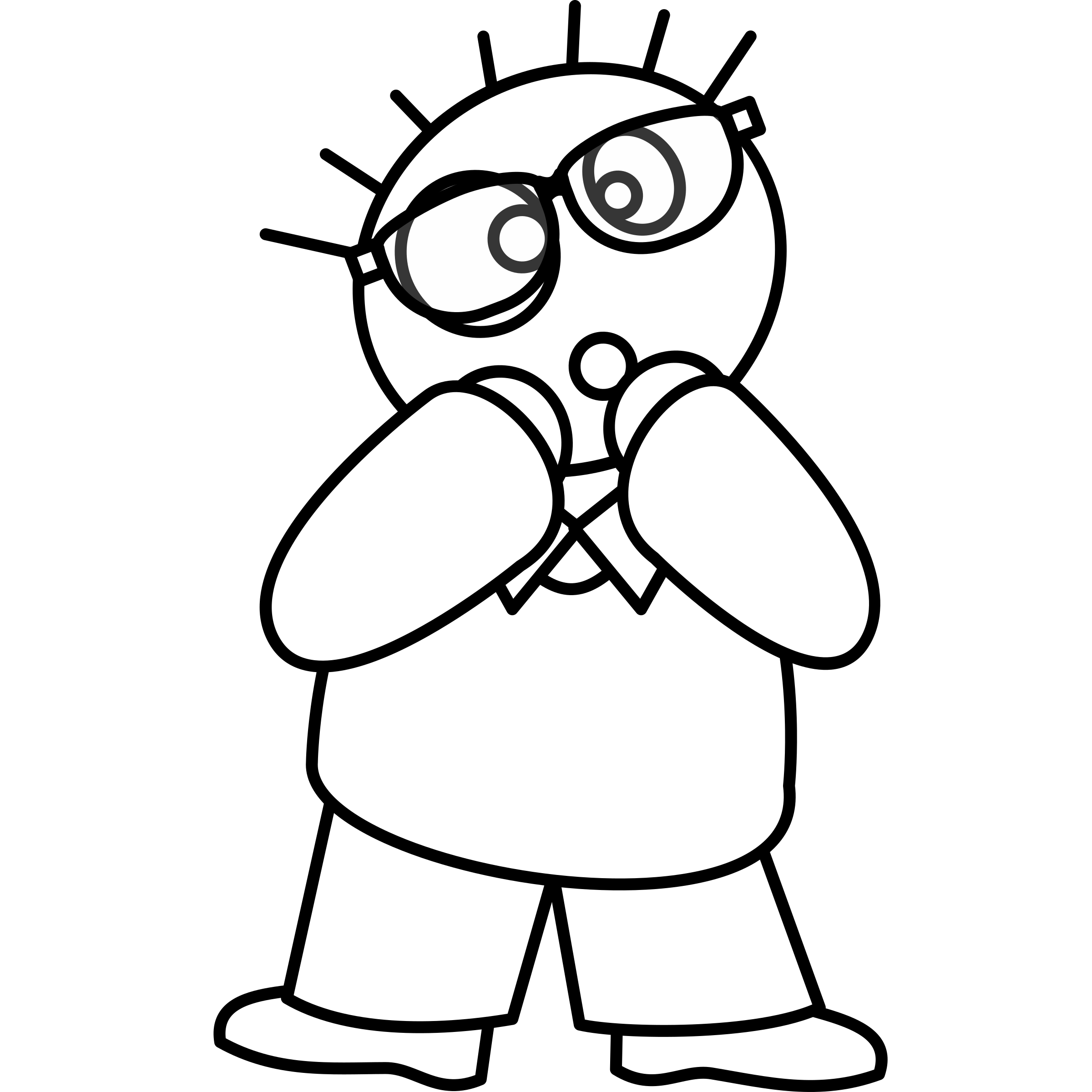 Oops clipart. Specman big image png