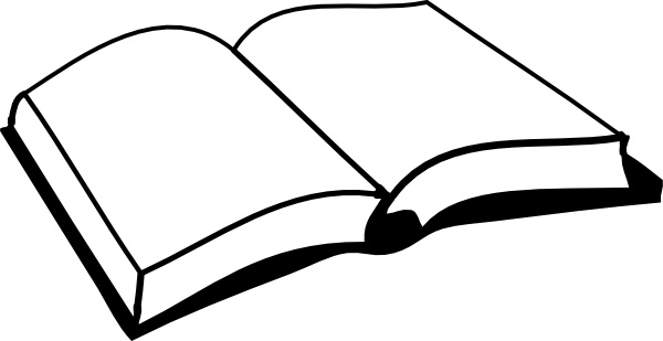 Open clip art free. Clipart book