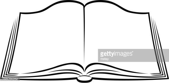 Books clipart simple. Open book kids pedia
