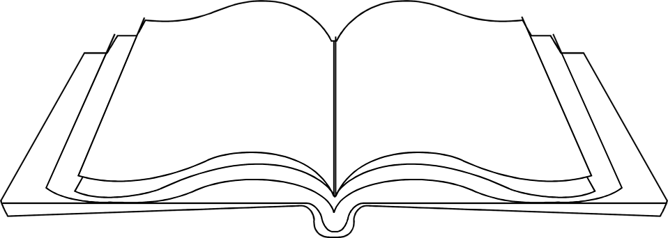 Cycle clipart roundabout. Png open book black