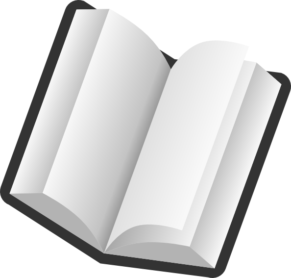 Clipart png book. Open clip art at