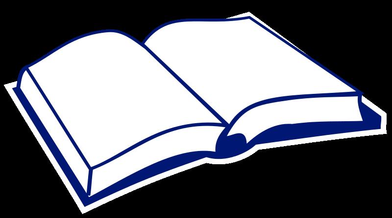 Open book clip art book page. File nae svg wikimedia