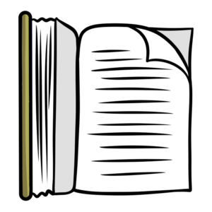 Organized clipart content page.  free book images