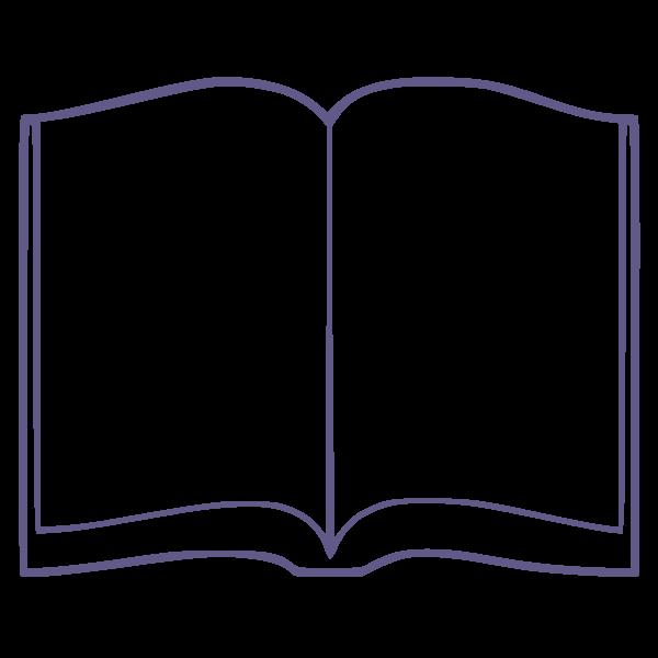 Checklist to make a. Open book clip art book page