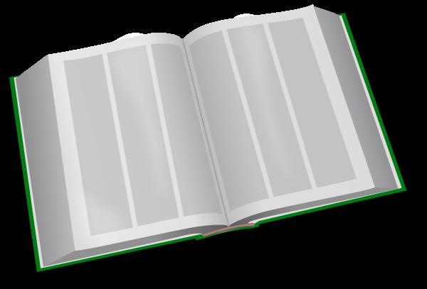 Open book clip art colored. Free clipart public domain