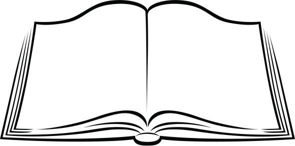 School sablonok clip art. Bible clipart open book
