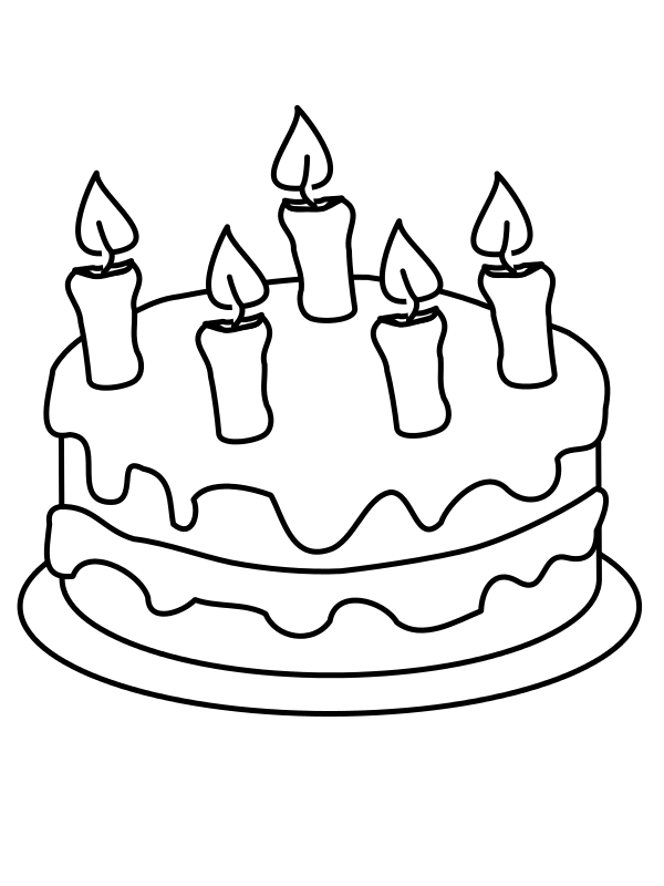 Wikijunior maze and book. Clipart cake drawing