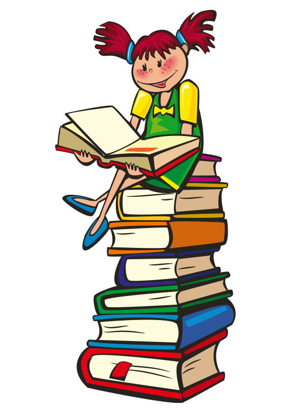 Be the smartest person. Writer clipart storybook