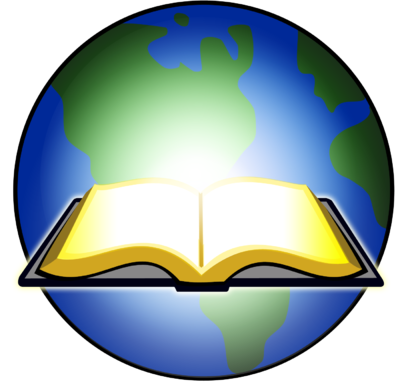Open book clip art light. Image bible glowing before