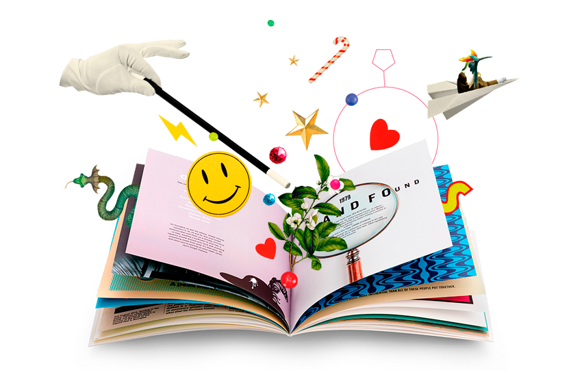 Personalised books gifts the. Open book clip art magic
