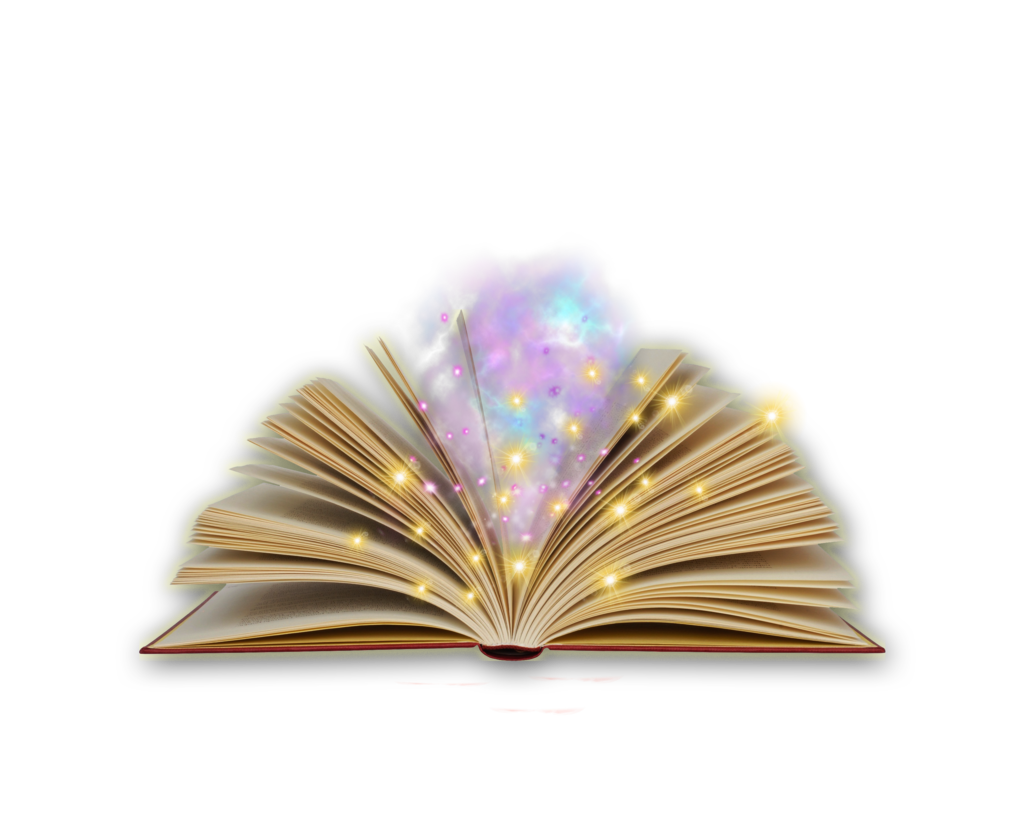 Png by moonglowlilly on. Open book clip art magic