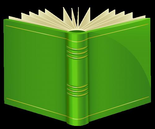 Green png magic pinterest. Books clipart open book