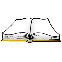Free clipart image clipartix. Open book clip art public domain