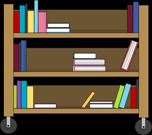 Images cart. Open book clip art school