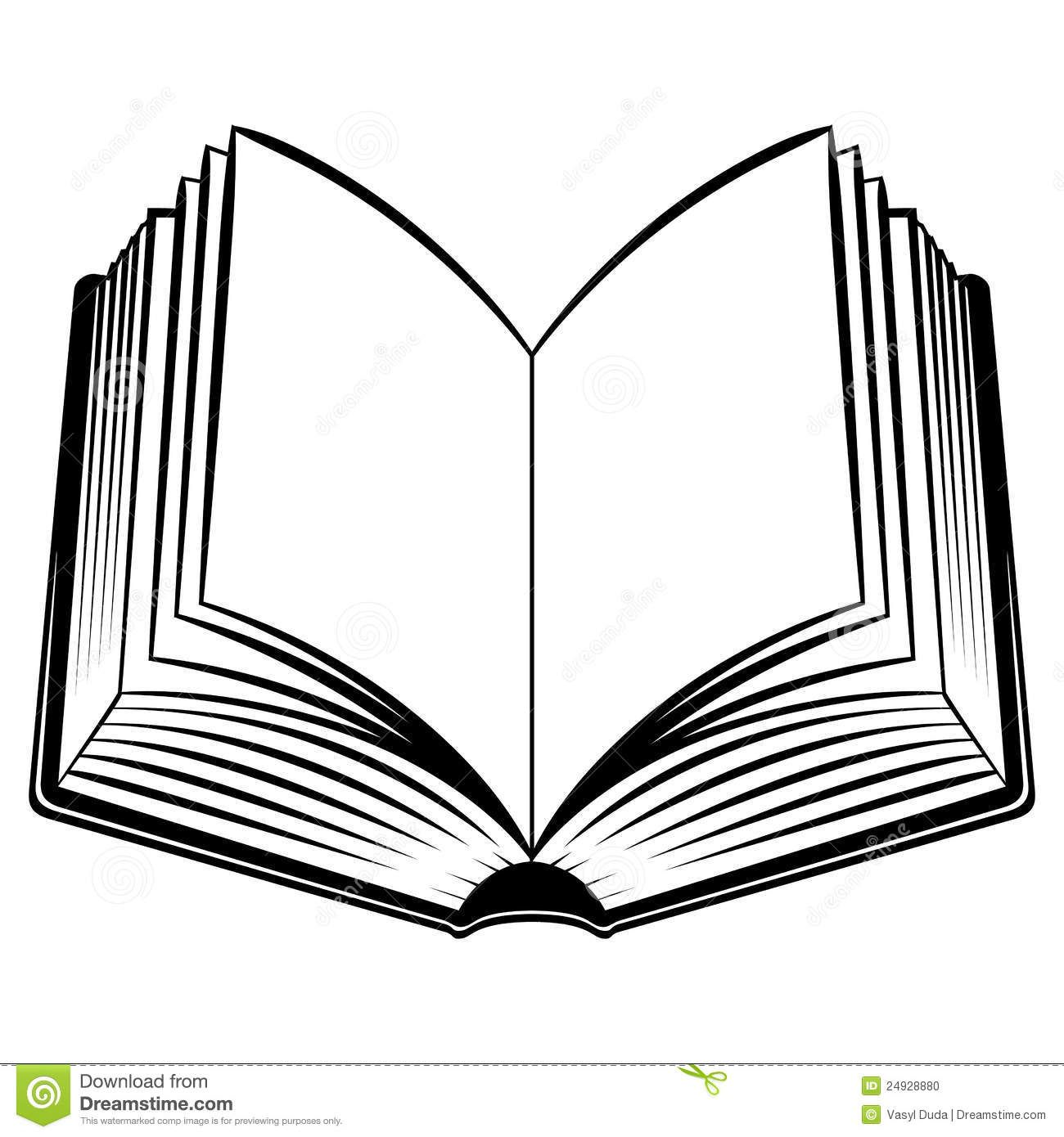 Image result for pose. Books clipart outline