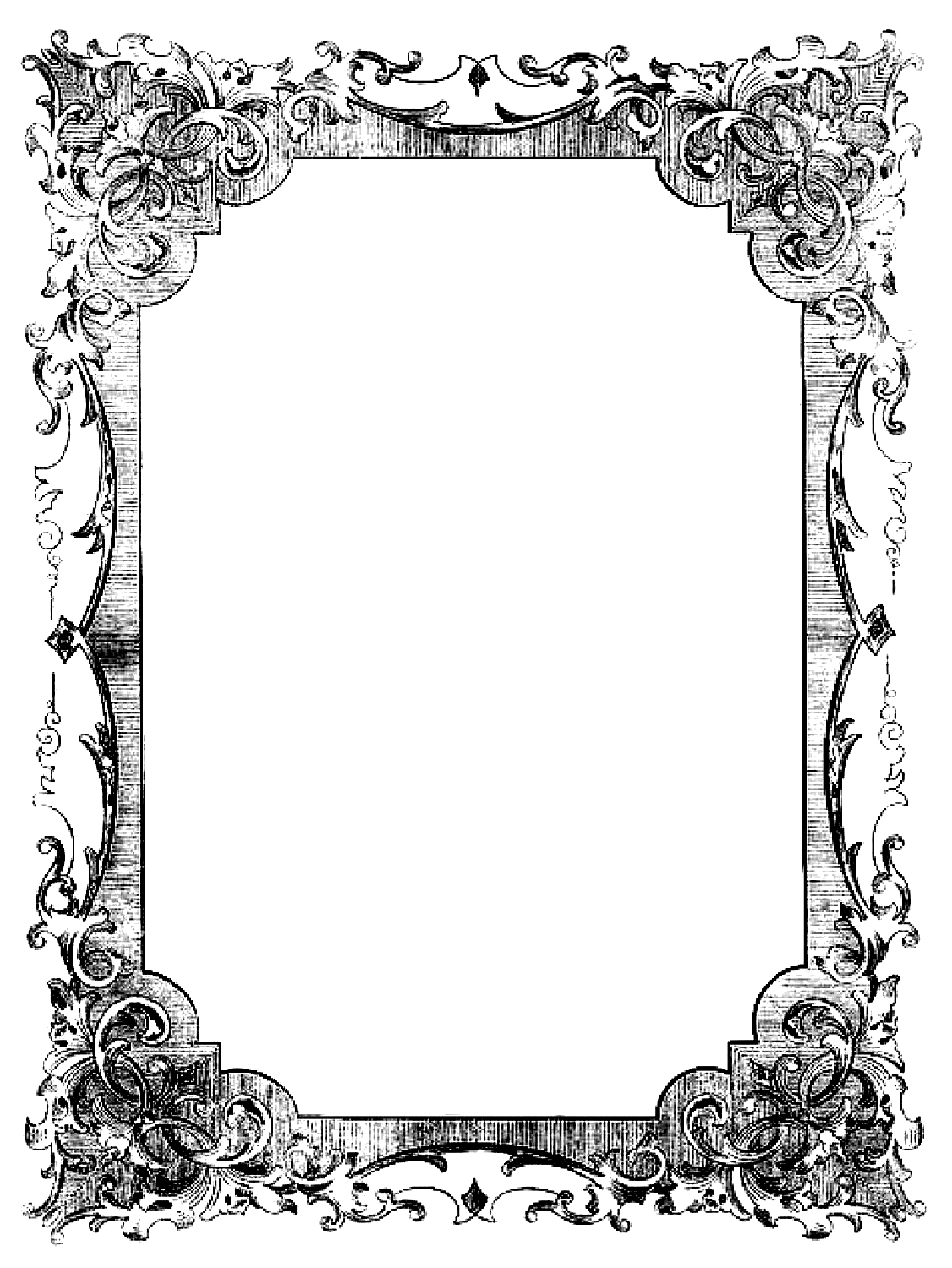 Open book clip art vintage. Transparent frames be bound