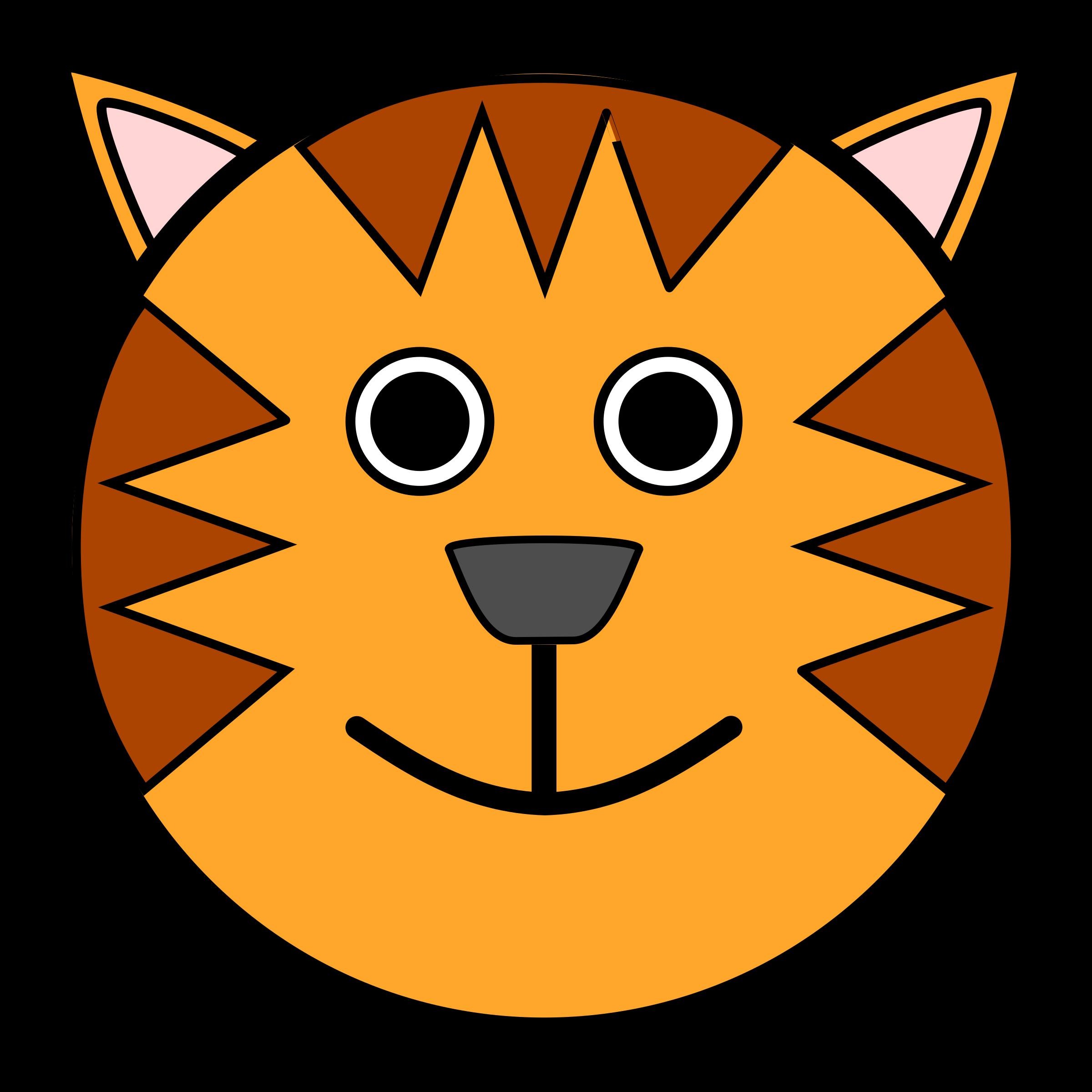 Tigre big image png. Open clipart