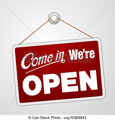 We are . Open clipart