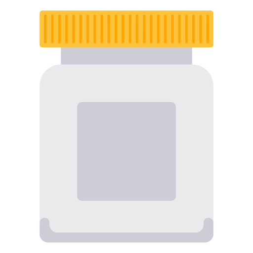 White icon transparent svg. Open pill bottle png
