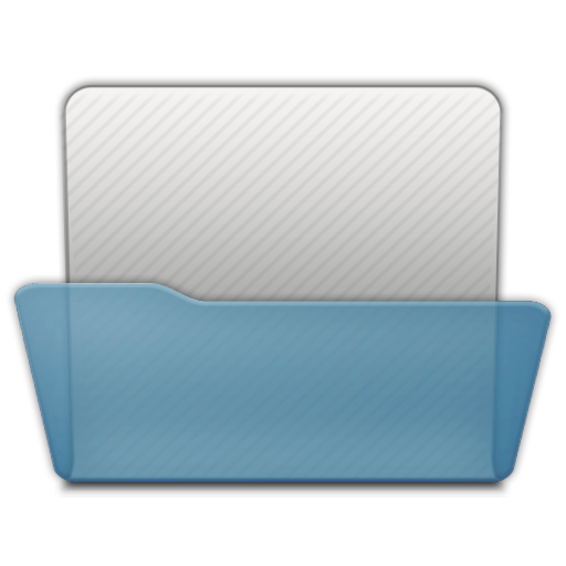 Open png files. Folder generic icon unified