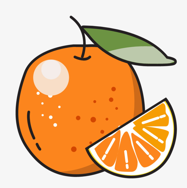 Cartoon png image and. Orange clipart