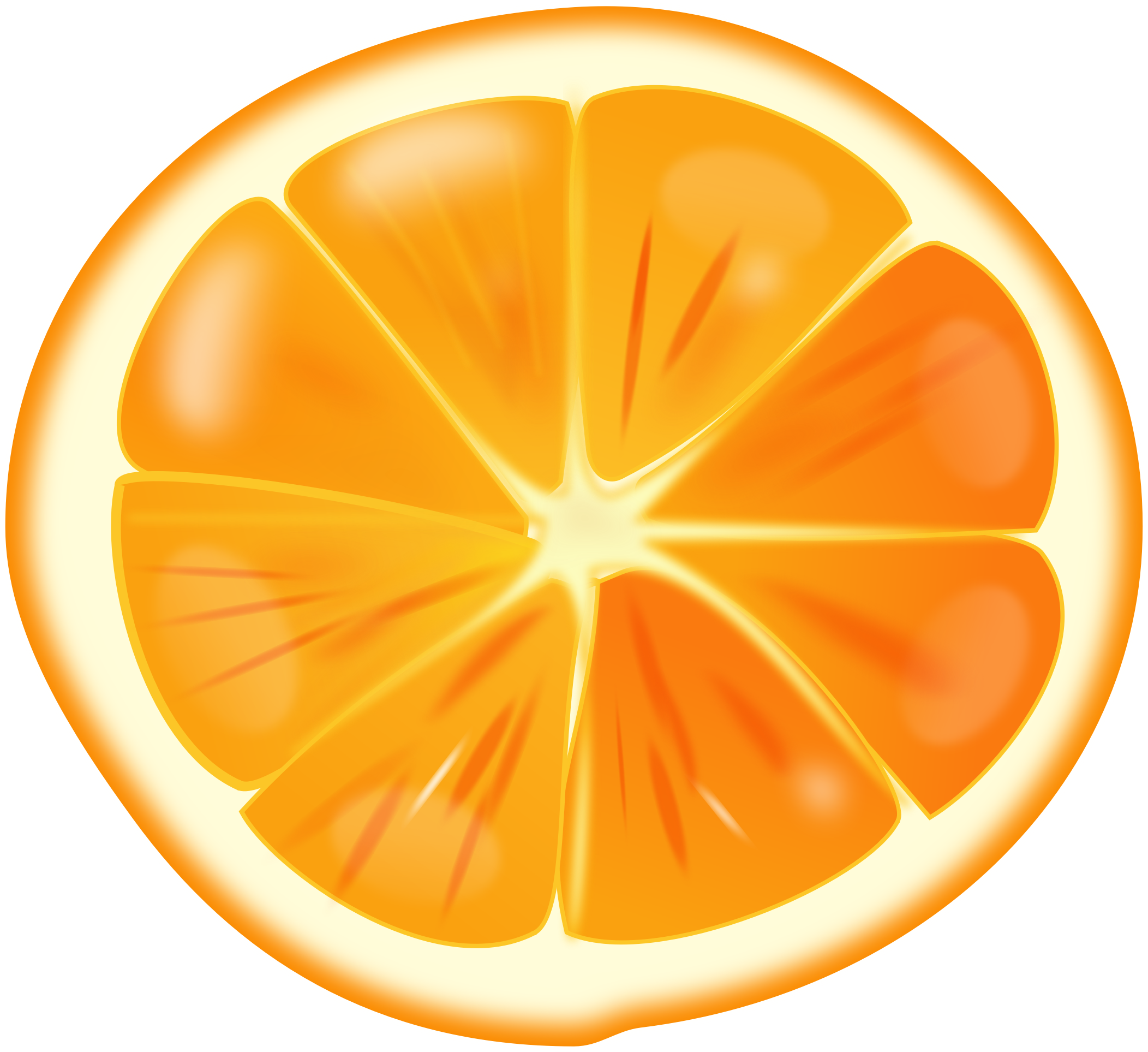 Clip art fruit transprent. Orange clipart