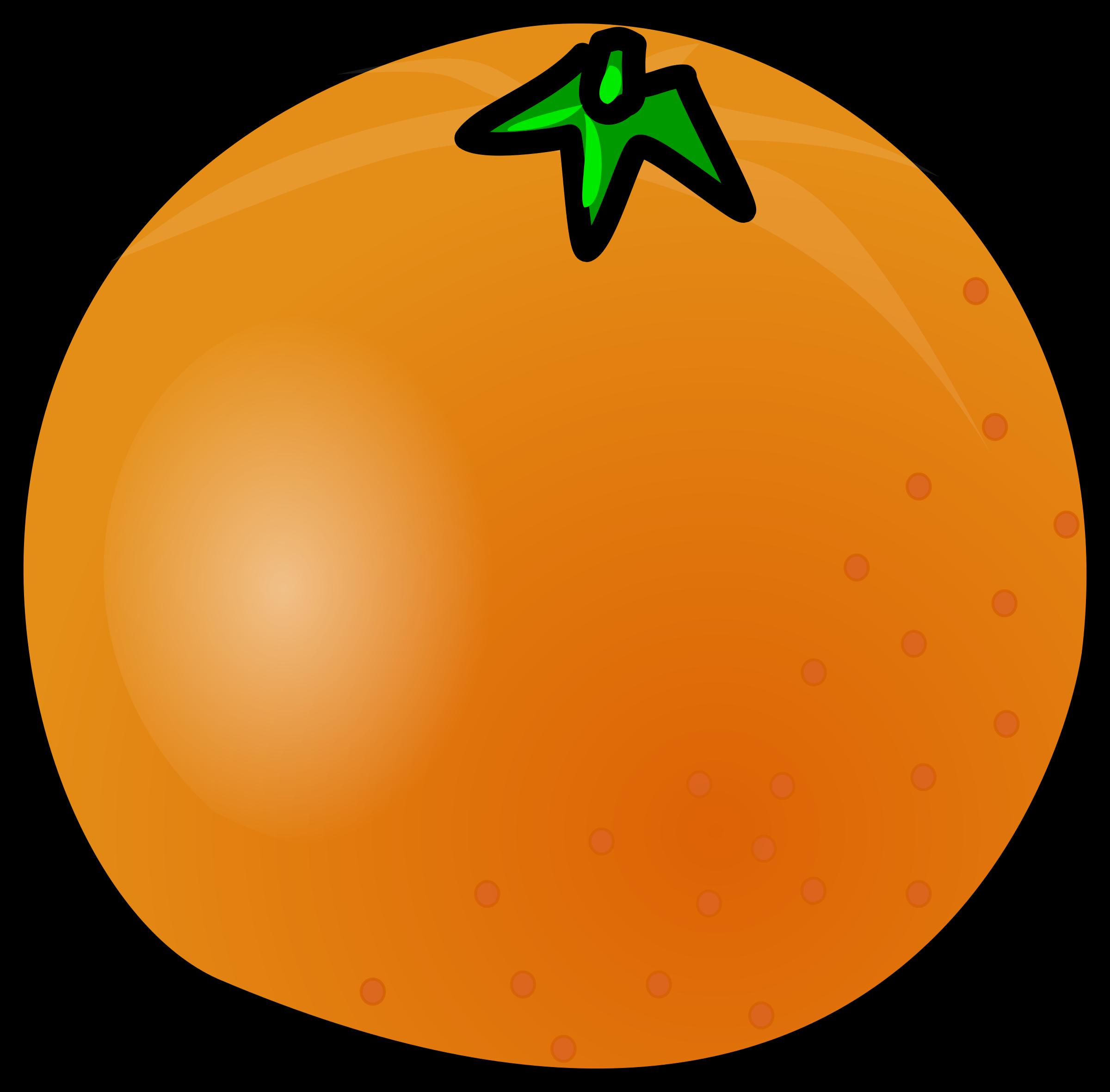 Big image png. Orange clipart