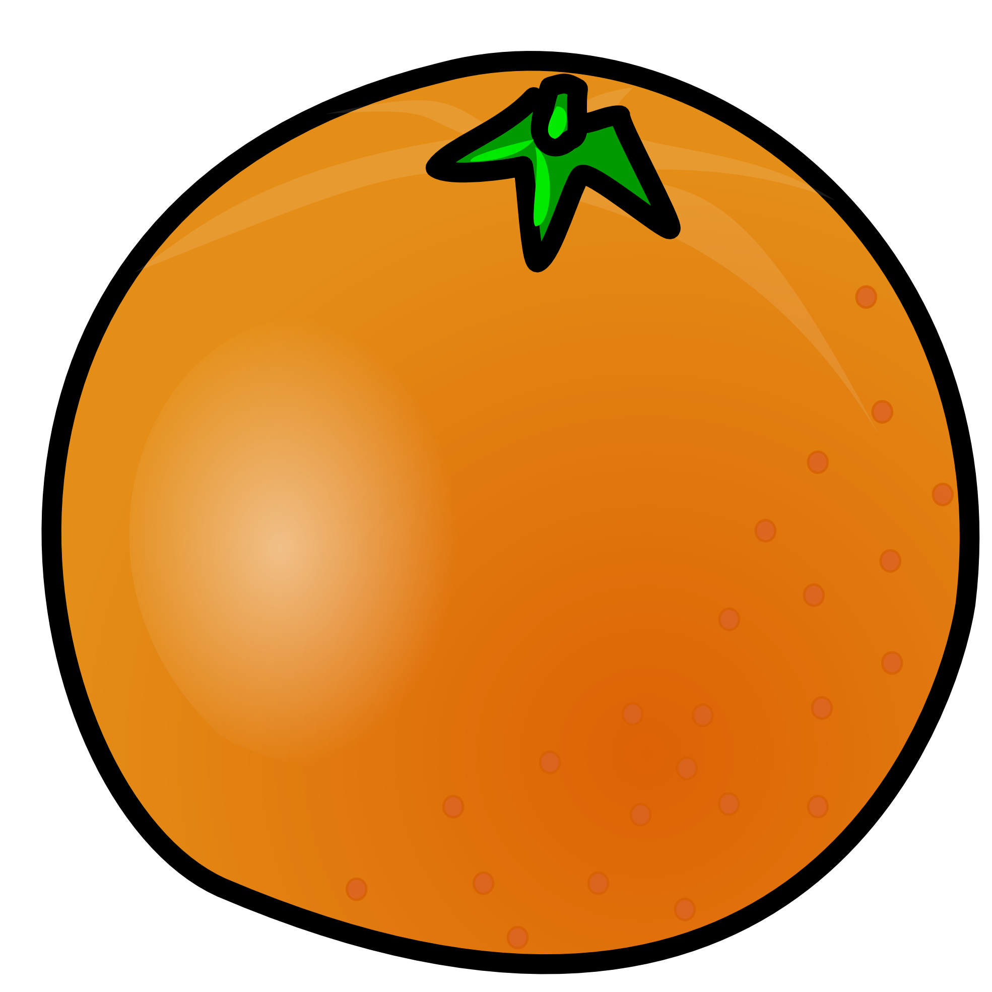Orange Clip Art Free