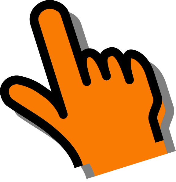 Thumb clipart orange. Hand clip art at