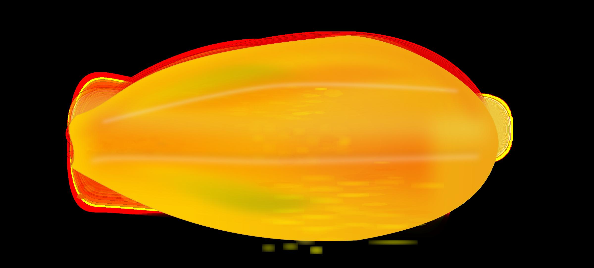 Orange clipart papaya. Big image png
