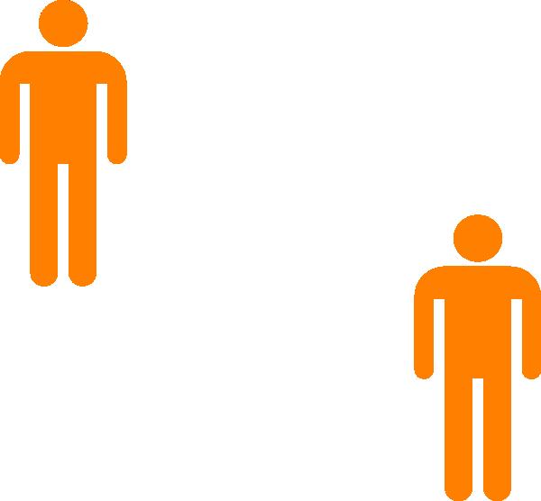Person orange. Clipart transparent free for