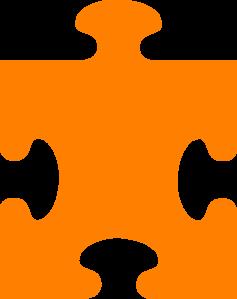 Orange piece clip art. Oranges clipart puzzle