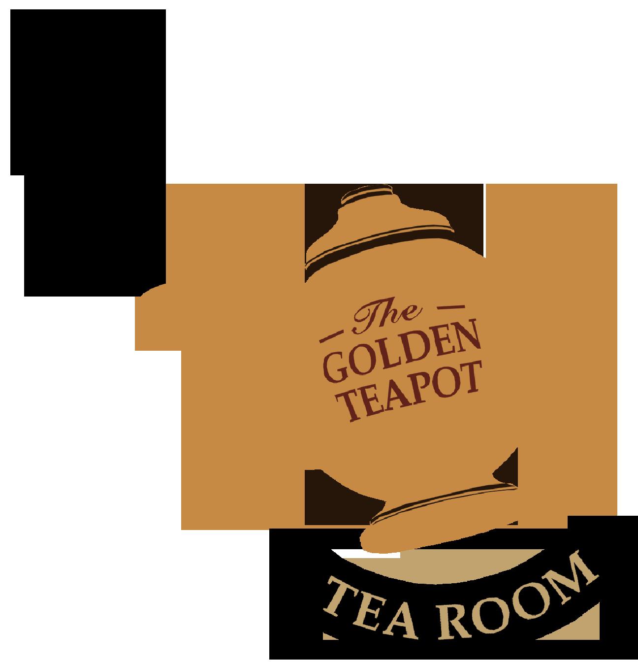 The golden at glenhyrst. Orange clipart teapot