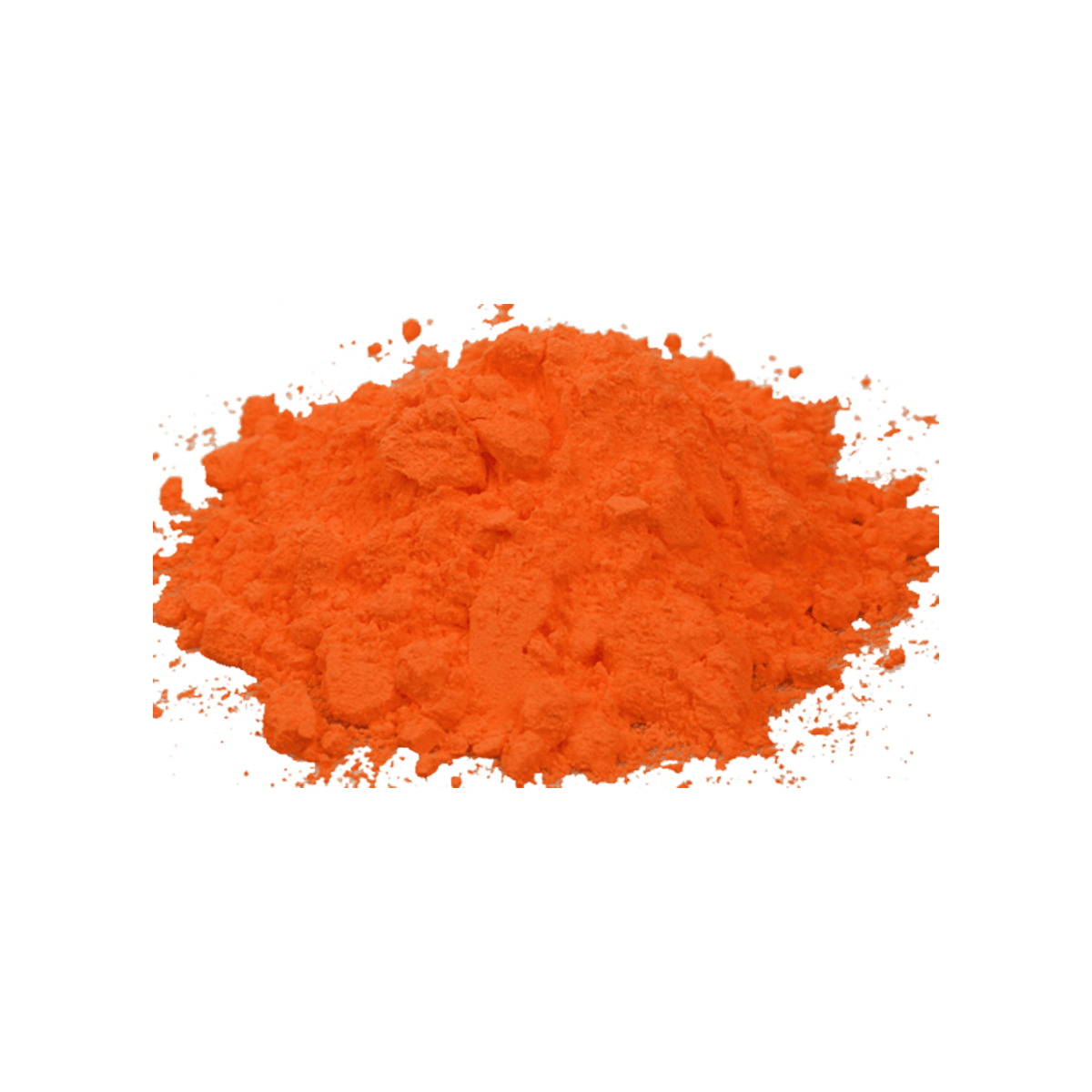 Image with transparent background. Orange smoke png
