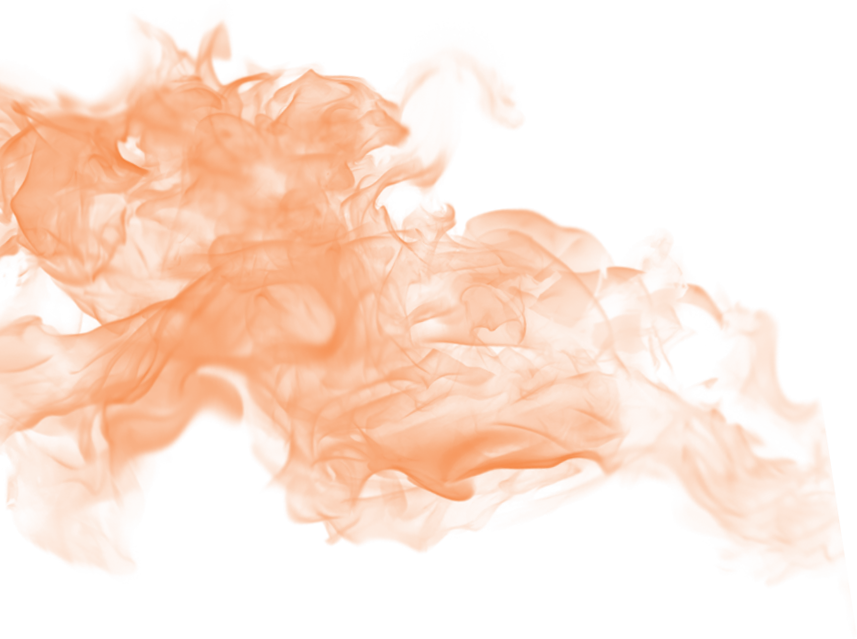 Orange smoke png. Image