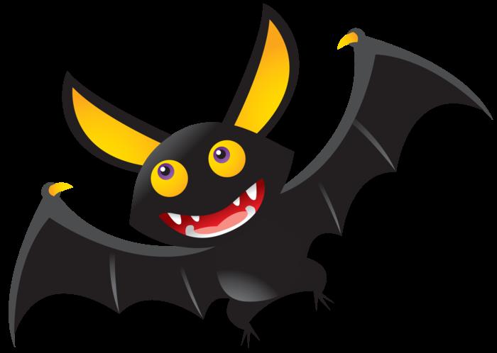 oranges clipart bat