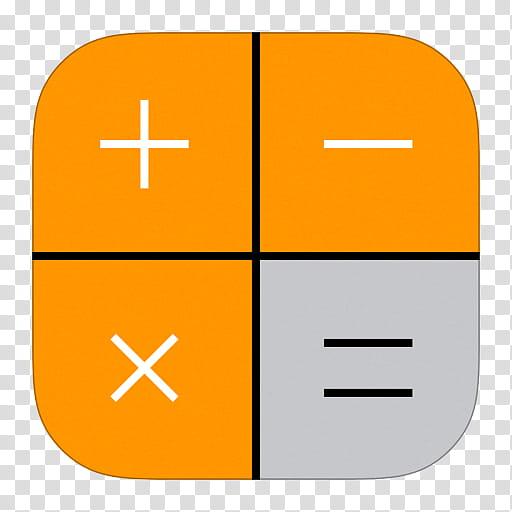 Ios icons orange cards. Oranges clipart calculator