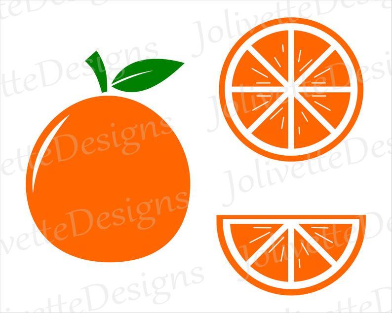 Oranges clipart comb. Orange fruit slice juice