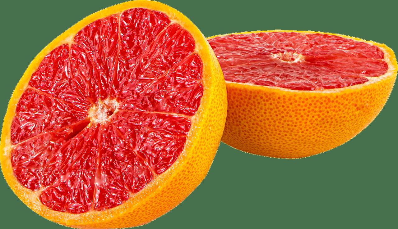 Sliced transparent stickpng. Blood orange png
