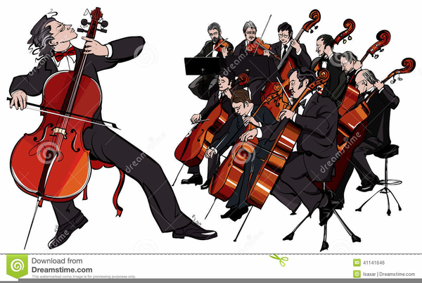 Orchestra clipart. Free string images at