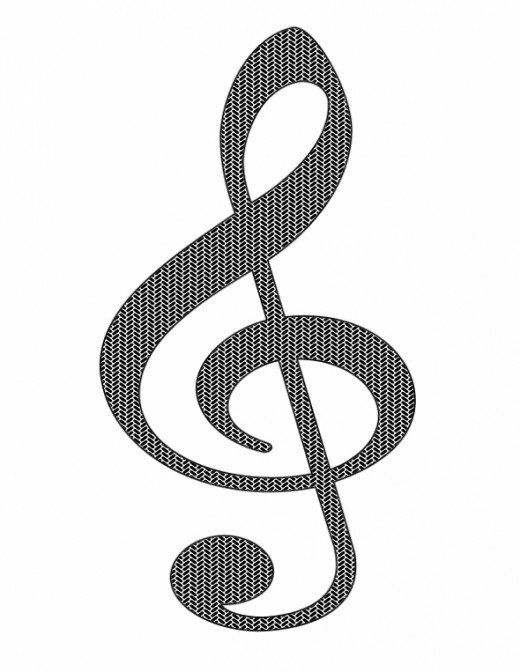 Orchestra clipart music symbol. Free clip art notes