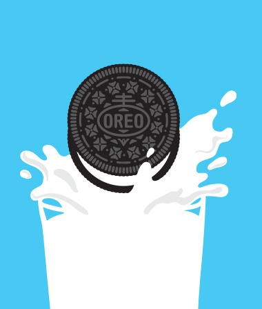 Oreo clipart advertisement. Home