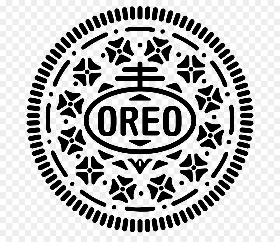 Oreo clipart black and white. Png download free transparent