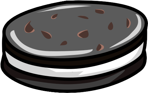 Free cookies cookie png. Oreo clipart black and white