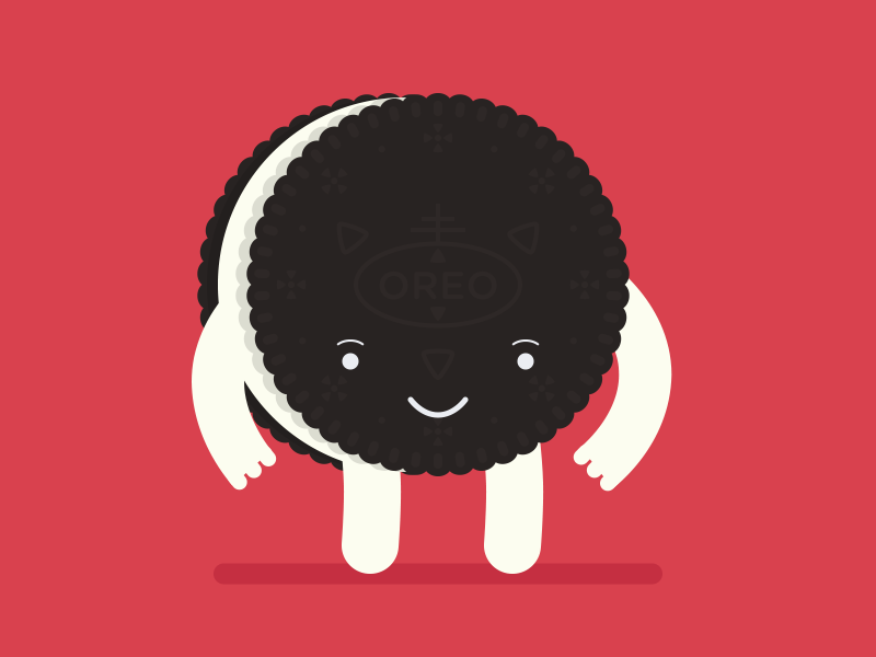 Oreo clipart character. Rubber hose by matthew