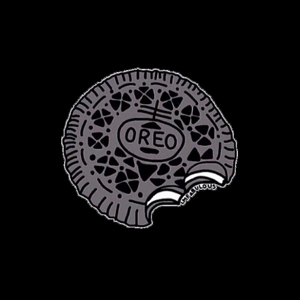 Oreo clipart cute. Cookie chocolat sweet tumblr