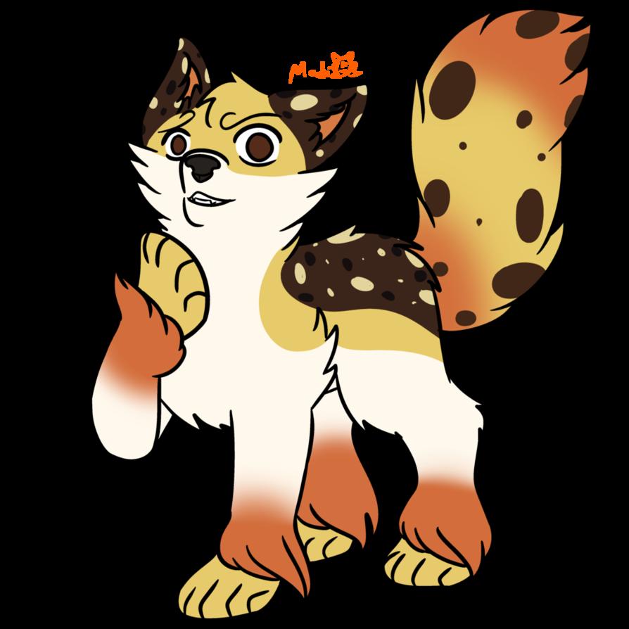 Oreo clipart emblem. Waffle wolf requested custom